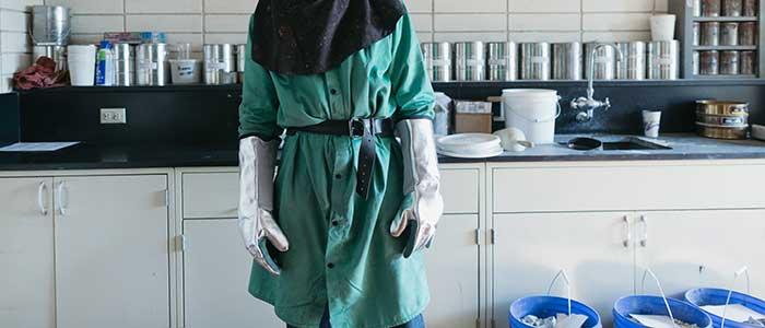 Safe work method statement chemical handling