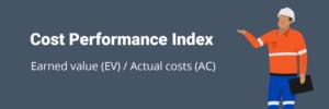 Cost performance index formula