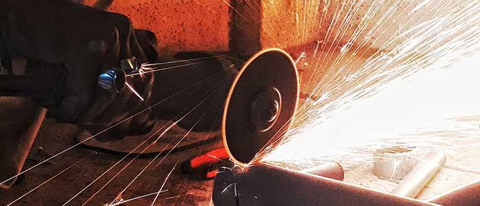 Safe work method statement angle grinder